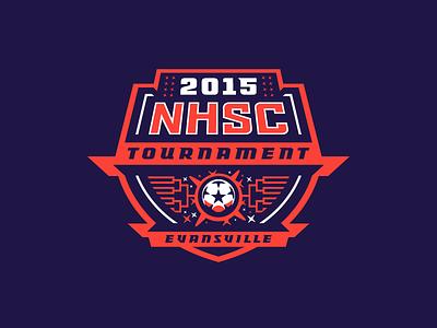 2015 NHSC Tournament bracket crest shield stadium field tournament championship football soccer