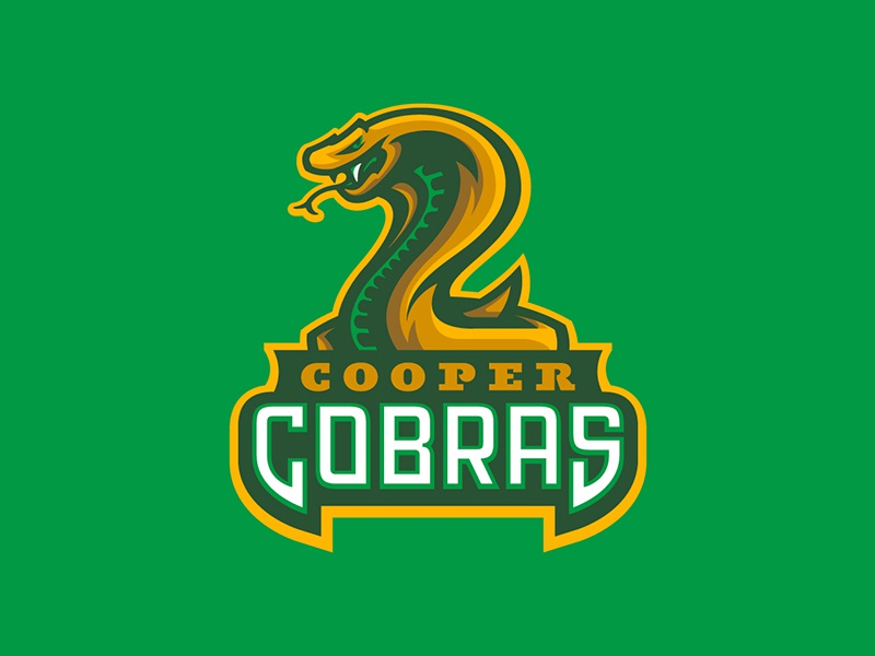 Cooper Middle School viper snake sports cobras cobra logo mascot school middle
