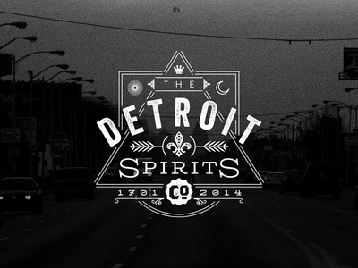 Detroit Spirits Co. | Proposed Logo