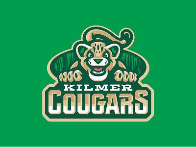 Kilmer Elementary School happy cub cat sports character mascot cougars cougar elementary school