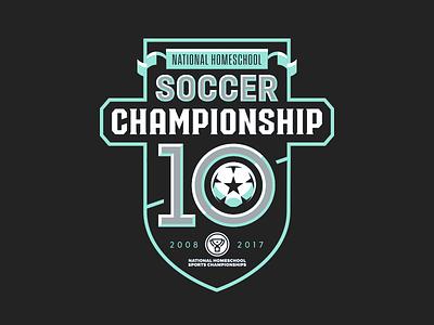 NHSC Tournament Logo 2017 anniversary national shield crest football tournament championship soccer