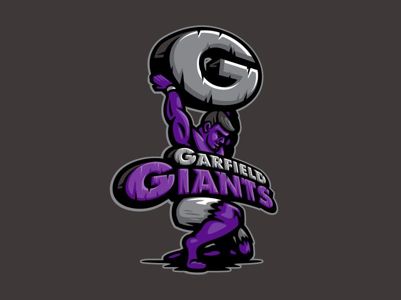 Garfield Giants hulk atlas character elementary school mascot giants giant