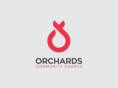 Orchards Community Church organization charity brand logo community orchard orchards church