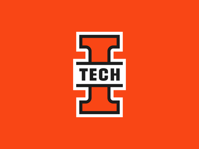 Indiana Tech Warriors - Ligature sports branding sports logo sports athletics lettermark letter ligature warriors tech indiana