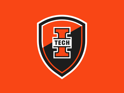 Indiana Tech Warriors - Shield badges brand athletic branding sports badge crest shield warriors tech indiana