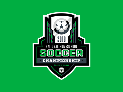 2018 NHSC Logo sports youth trophy championship champion tournament league football soccer