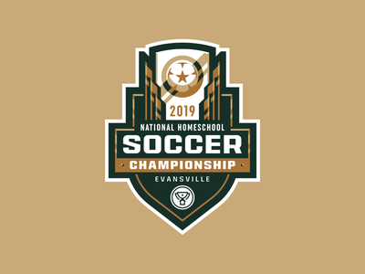 2019 NHSC Logo competition school high school trophy championship sports youth tournament football soccer