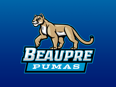 Beaupre Elementary kids elementary school pumas puma mascot lion mountain cougar cougars
