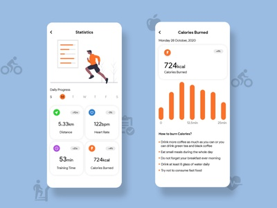 Fit to Fit - Run, Fitness App Design, App Design app concept app design app ui fitbit fitness center health app healthy healthcare fitness app stay fit fitness health fit to fit 36daysoftype techo aj design