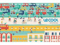 LeCool Illustration