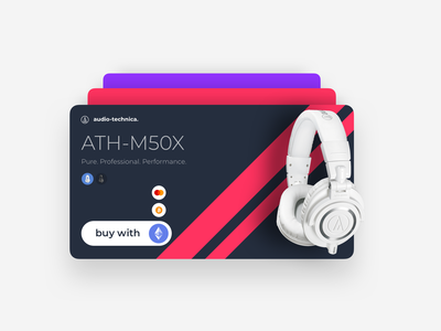 Product card crypto audiotechnica productcard product