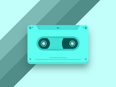 Cassette 📼 sketch design tape cassette