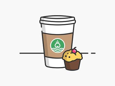 Coffee design starbucks cappuccino coffee