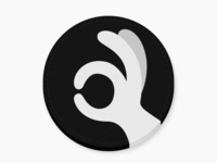 Gotcha v2 logo design coaster ok 👌