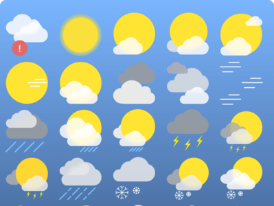 Weather Icons htc one htc sketchapp weather iconset icons