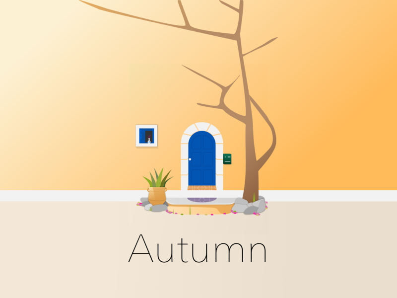'Autumn' Also Known As 'Fall' autumn collection autumn ui design illustration vector fall design sketchapp