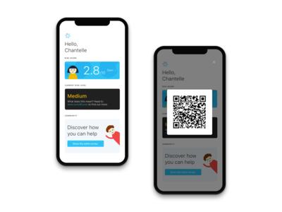 Scanning app concept design apple scanning scanner character design mobile design mobile app app design medical care medical app
