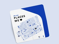 Places we love map front