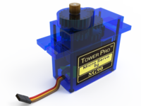 Transparent Servo Motor
