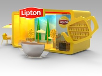 Lipton Exhibition Design For Family