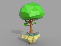 Complete Low Poly tree Modelling and Earn money Tutorial