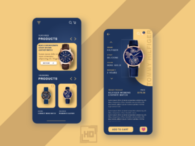 watch app ui design