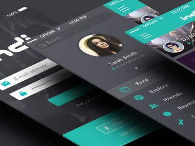 App concept work
