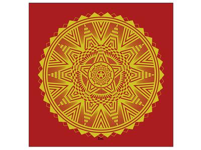 Golden Star Mandala