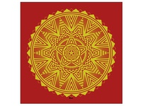 Golden Star Mandala