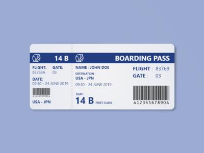 024 - Boarding Pass