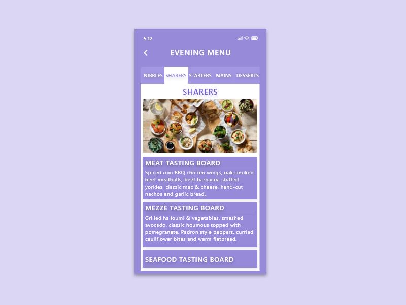 043 - Food Menu app ui mobile ui mobile design mobile app design mobile mobile app app front-end front end frontend design ui template dribbble dribble ux ui dailyui