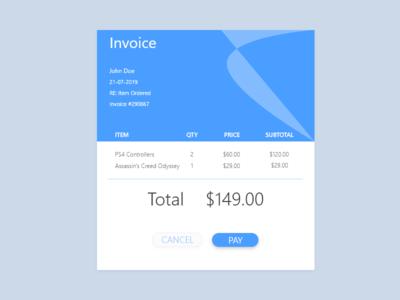 046 - Invoice