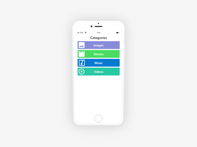 099 - Categories mobile application mobile mobile ui mobile app design mobile design mobile app app front end design ui ux ui template categories daily 100 challenge dribbble daily ui dailyui