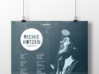 Richie Kotzen European Tour Poster
