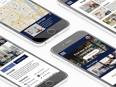 Property Pro web ux design responsive website ui design