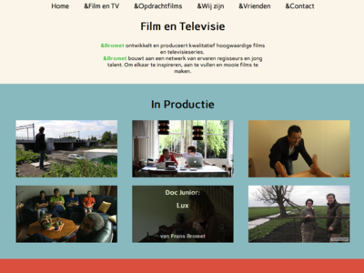&Bromet film and television page