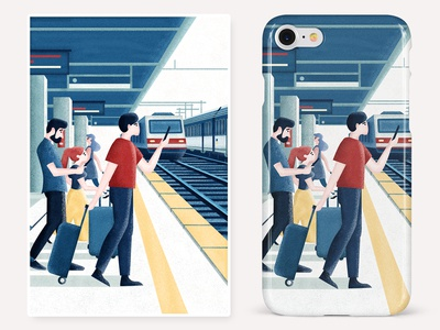 Capture inspiration Series-4-《Station》