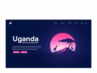 Untitled Landing page for Uganda Murchison Nation pack