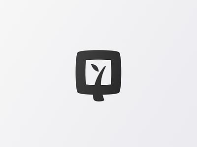 SquareFoot Gardening Foundation app vector minimal customtype branding and identity typography mark logos logotype logodesign logo icon flat branding