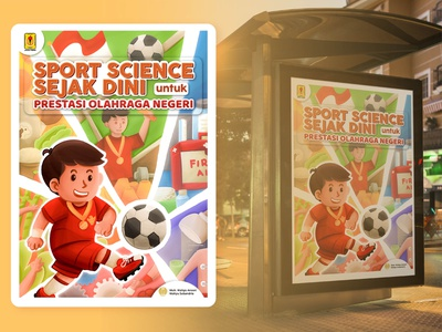Sport Science Poster poster illustrator design illustration