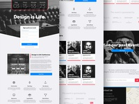 Evenire Lite - Event Landing Page (Free Download)