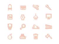 Line Icon Set (2)