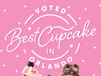 Best Cupcake in Orlando Poster