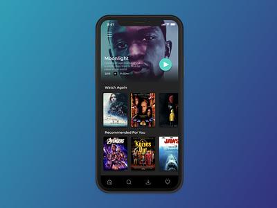 TV App | Design Challenge ux ui design