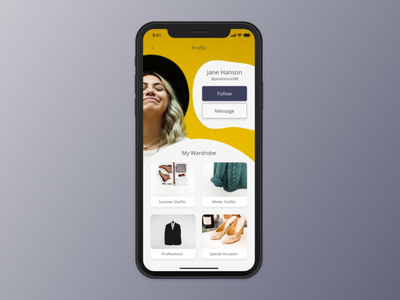 User Profile | Design Challenge