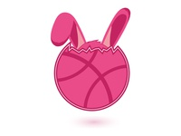 Dribbble Easter Rabbit