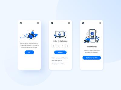 Drivo mobile app design ux ui minimalism car sharing carpooling wireframe high-fidelity