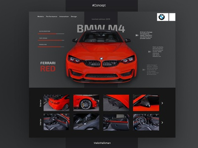 BMW M4 - RED FERRAFI (Prototype)