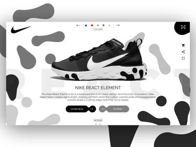 Nike React Showroom