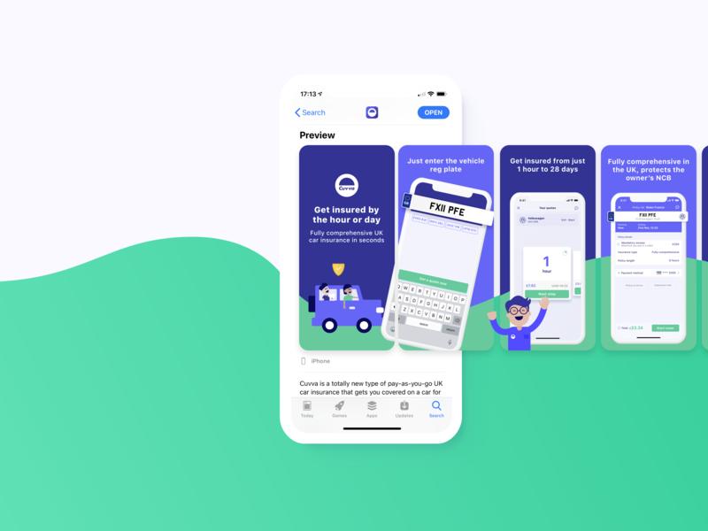 Updating the App Store ios 12 app store ios branding ui transition design animation mobile iphone app illustration